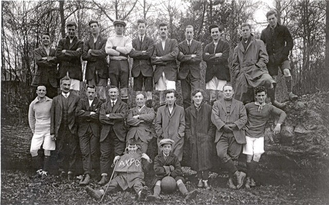 Anderson Young Peoples Guild Football Team mid c1930s