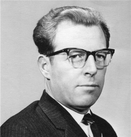 Rev David Sayer Anderson BC Minister 1965-1969