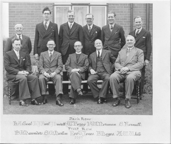 Rev Jones & Deacons 1953