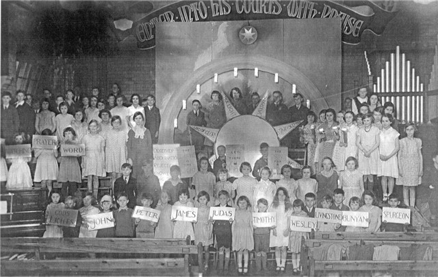Sunday School Demonstration c1934