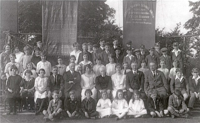 Sunday School Exam Leaders & Winners 1926